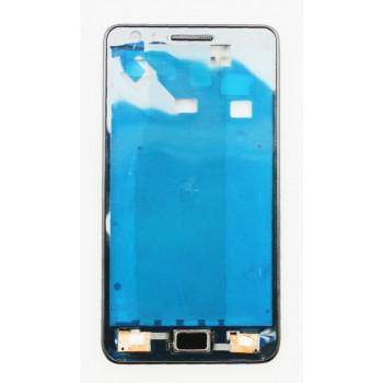 Rėmelis ekranui Samsung i9100 S2 sidabrinis ORG