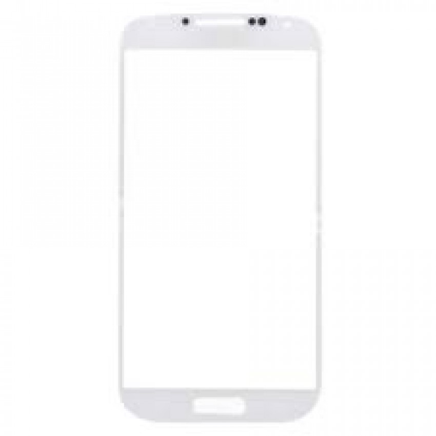 LCD stikliukas Samsung i9500/i9505 S4 baltas