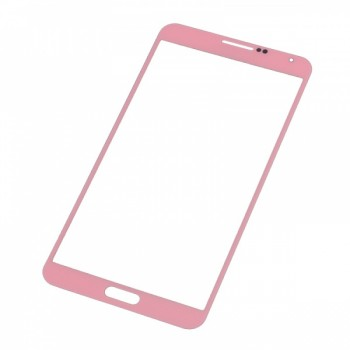 LCD screen glass Samsung N9000/N9005 Note 3 pink