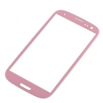 LCD screen glass Samsung i9300 S3/i9301 S3 Neo/i9300i pink