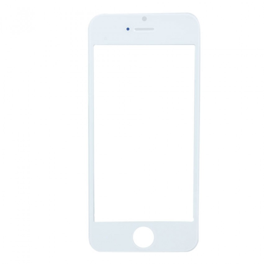 LCD stikliukas Apple iPhone 5G/5S/5C/SE baltas ORG