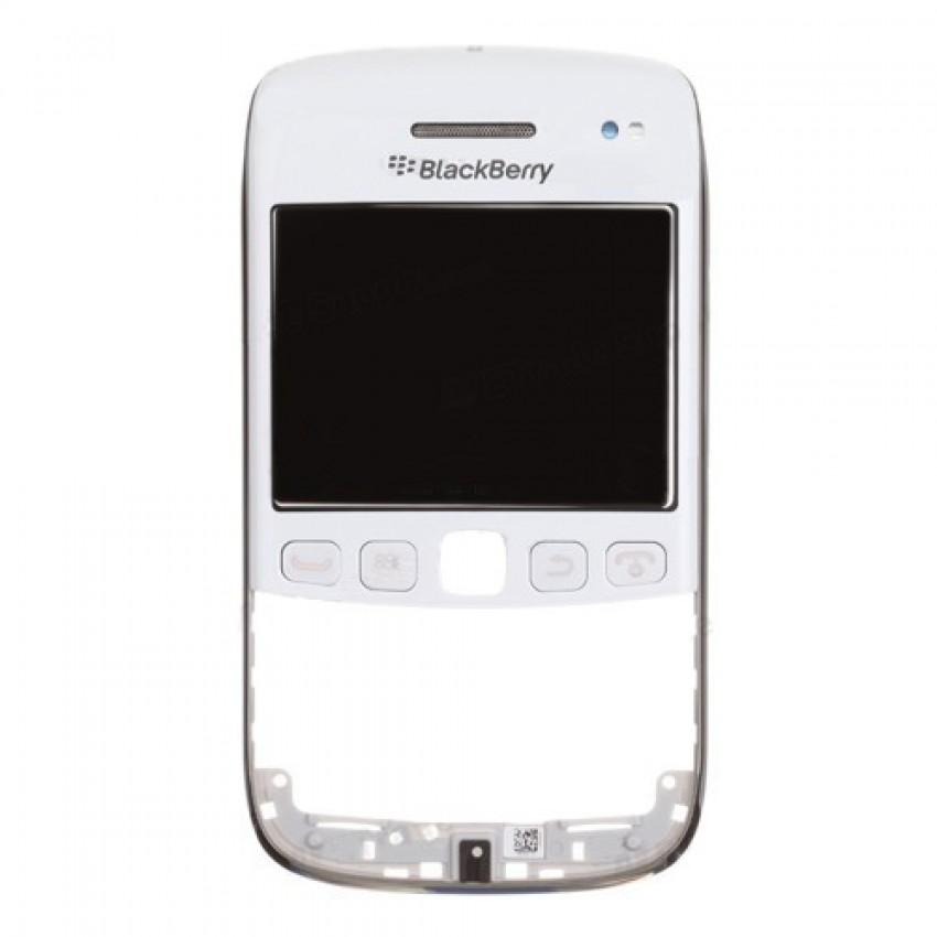Lietimui jautrus stikliukas BlackBerry 9790 su priekiniu rėmeliu ir garsiakalbiu baltas ORG naudotas