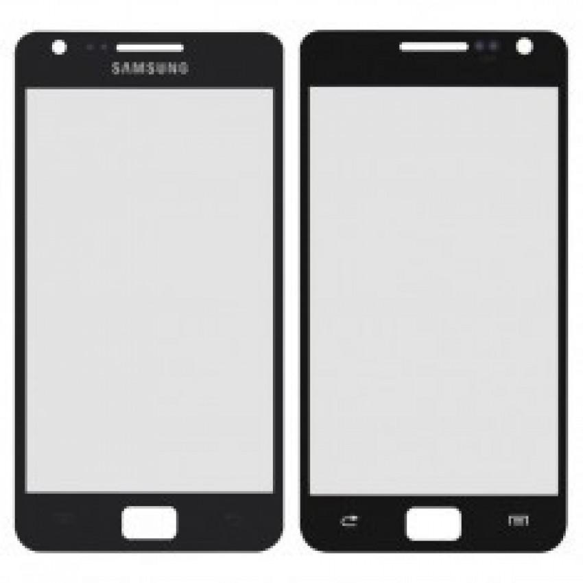 LCD stikliukas Samsung i9105/S2+ mėlynas