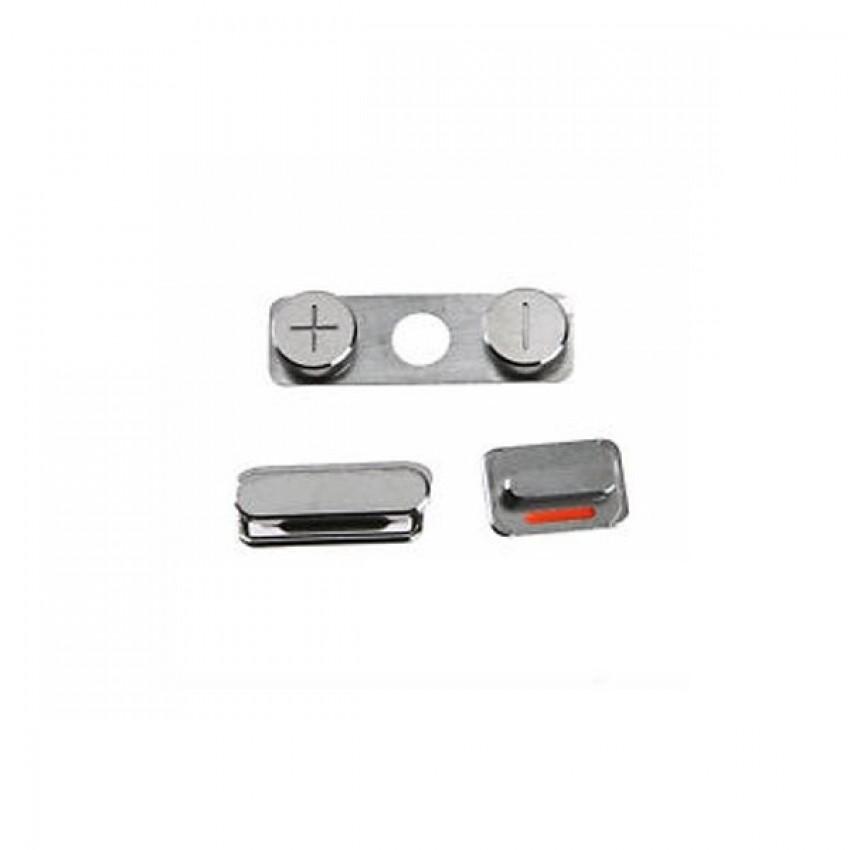 Side keypad Apple iPhone 5S (on/off,volume,mute,SIM holder) gold ORG