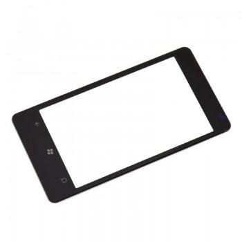 LCD screen glass Nokia 800 Lumia black