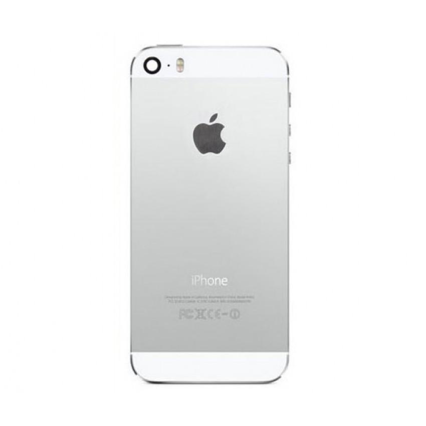 Galinis dangtelis iPhone 5S sidabrinis