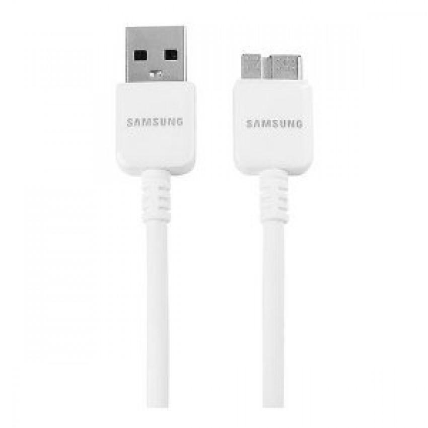USB kabelis ORG Samsung N9005/N7200 Note 3 microUSB (ET-DQ11Y1WE) baltas (1,5M)