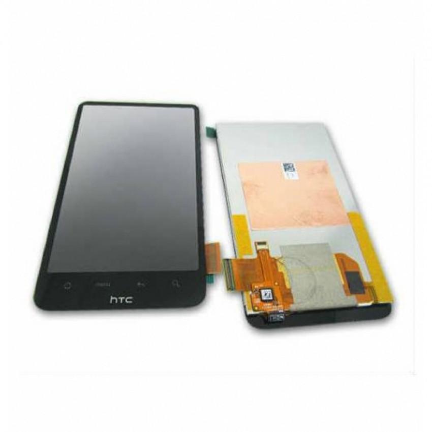 Ekranas HTC Desire HD/G10 su lietimui jautriu stikliuku HQ