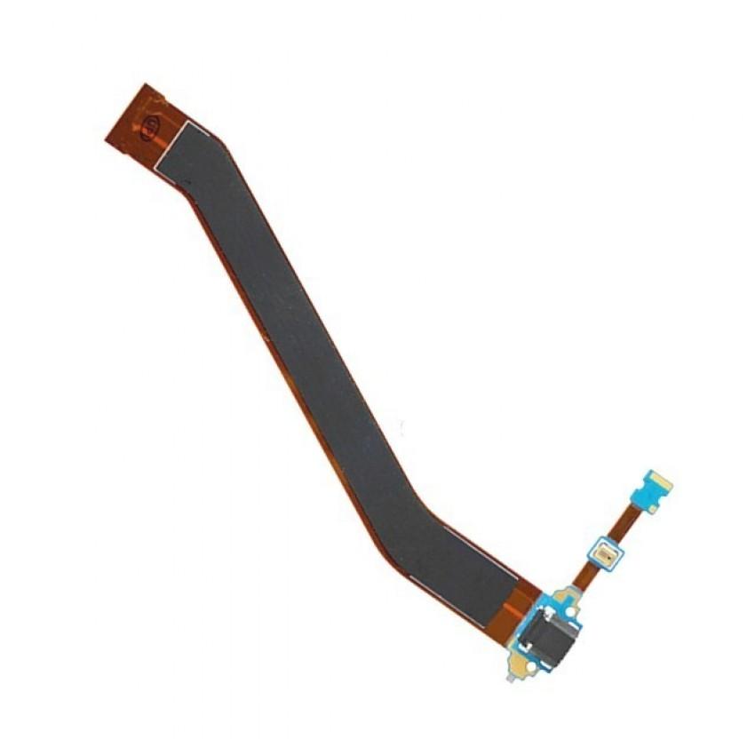 Lanksčioji jungtis Samsung P5200/P5210/Tab 3 10.1 su įkrovimo kontaktu ir mikrofonu ORG