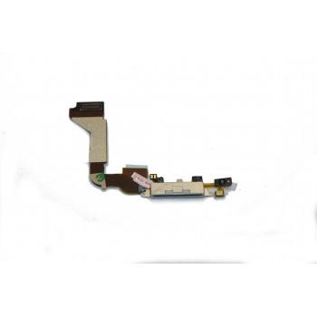 Lanksčioji jungtis Apple iPhone 4G įkrovimo kontakto balta naudota ORG