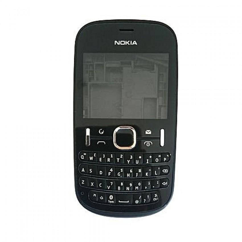 Korpusas Nokia 200 juodas high copy