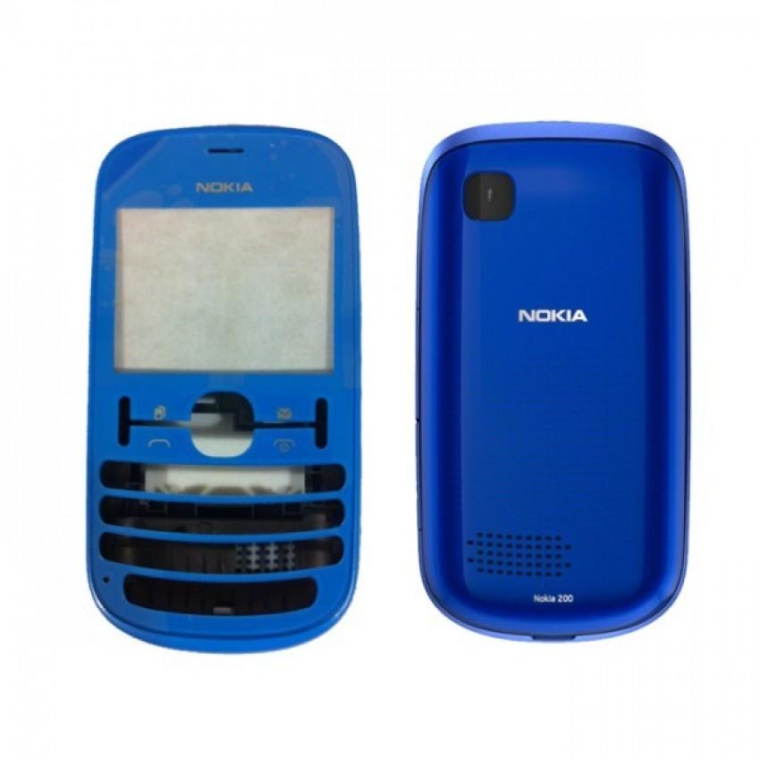 Korpusas Nokia 200 mėlynas HQ