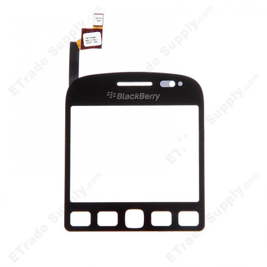 Lietimui jautrus stikliukas BlackBerry 9720 juodas HQ