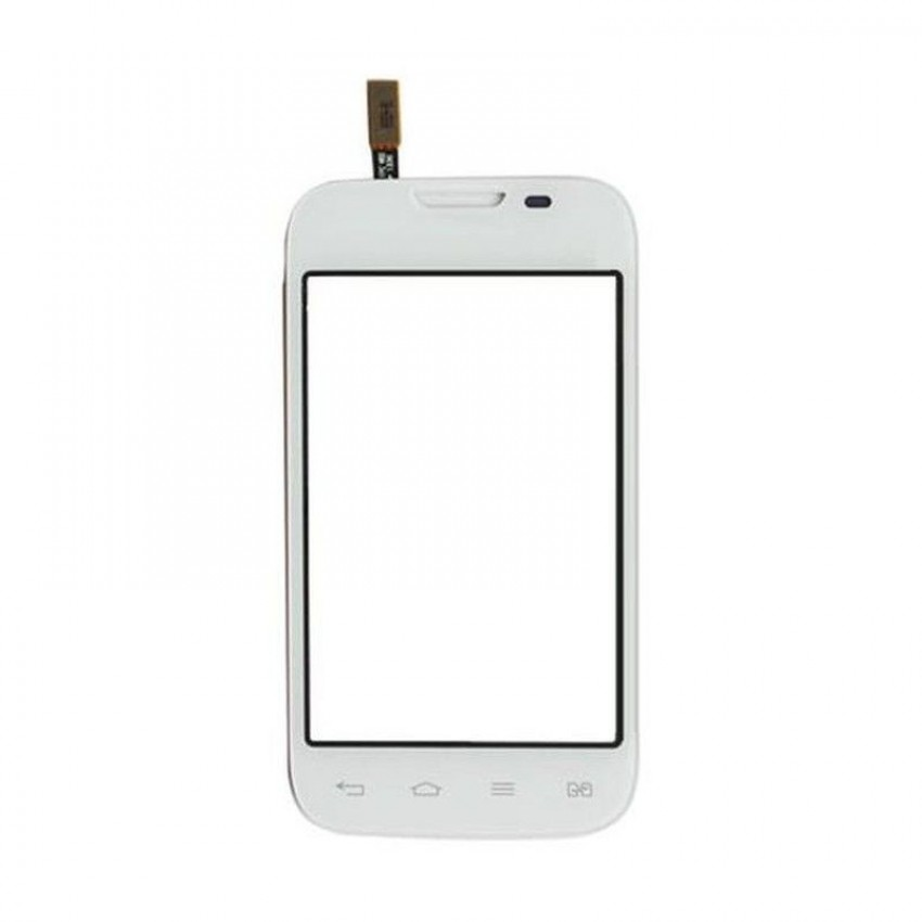Lietimui jautrus stikliukas LG D170 L40 dual baltas HQ