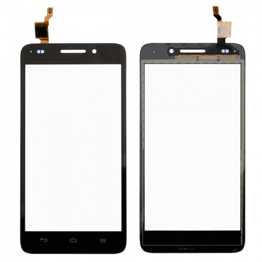 Lietimui jautrus stikliukas Huawei G620 juodas ORG