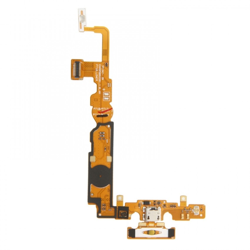 Lanksčioji jungtis LG P710 L7-ll įkrovimo kontakto ir mikrofonu HQ