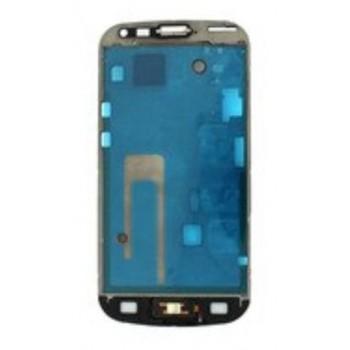 Rėmelis ekranui Samsung S7560/S7562 Trend/S Duos su Home mygtuko šleifu ORG