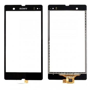 Lietimui jautrus stikliukas Sony L36h C6602/C6603 Xperia Z juodas HQ