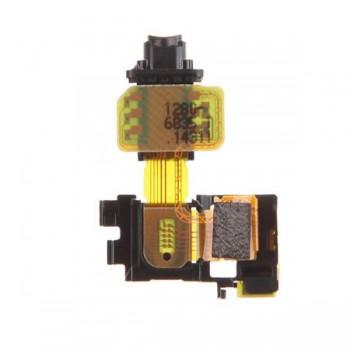 Lanksčioji jungtis Sony D6603/Xperia Z3 su ausinių lizdu ir šviesos davikliu ORG