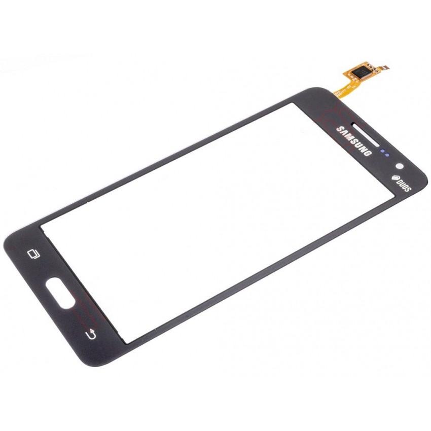 "Lietimui jautrus stikliukas Samsung G530F Grand Prime (su ""Duos"" ženklu) pilkas HQ"