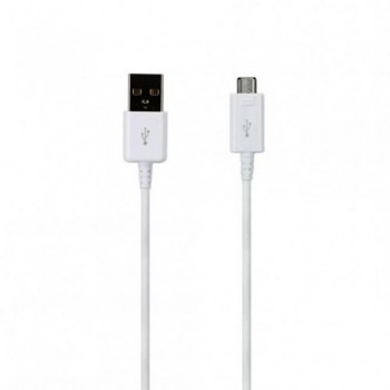 USB kabelis ORG Samsung G920/G925 S6/S6 Edge microUSB (EP-DG925UWE) baltas (1,2M)