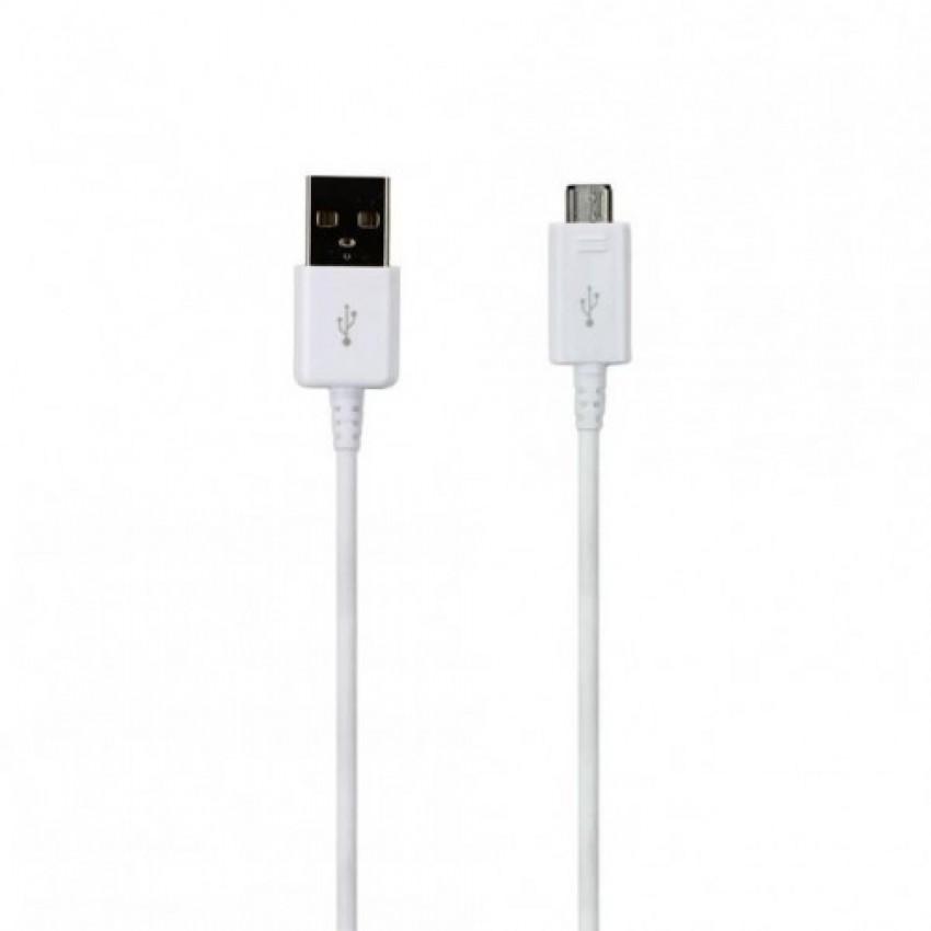 USB cable ORG Samsung G920/G925 S6/S6 Edge microUSB (EP-DG925UWE) white (1,2M)