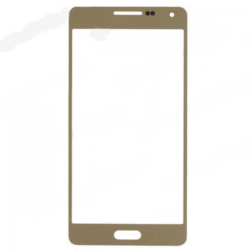 LCD stikliukas Samsung A500 A5 auksinis