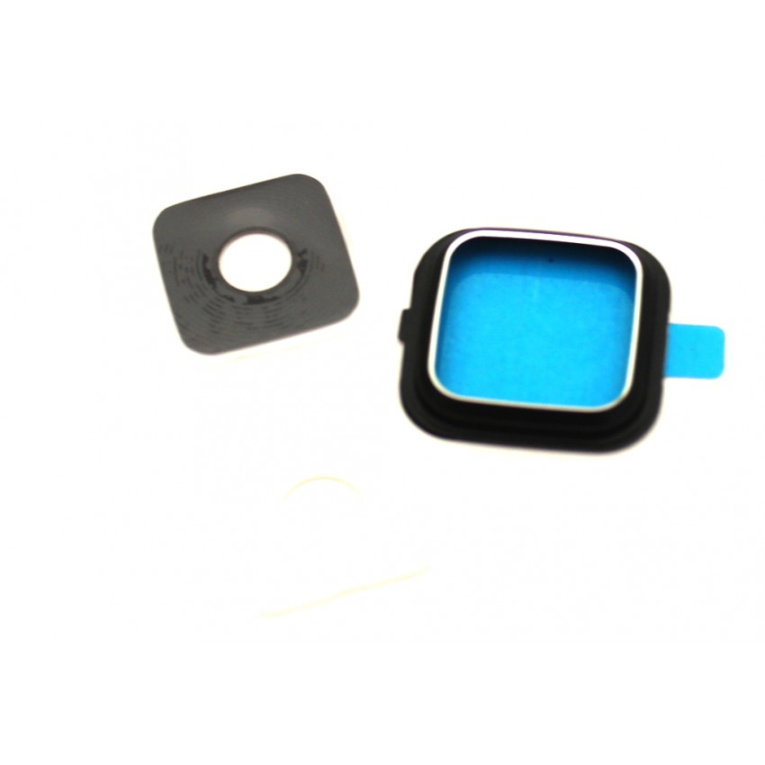 Samsung N910F Note 4 kameros stikliukas juodas HQ