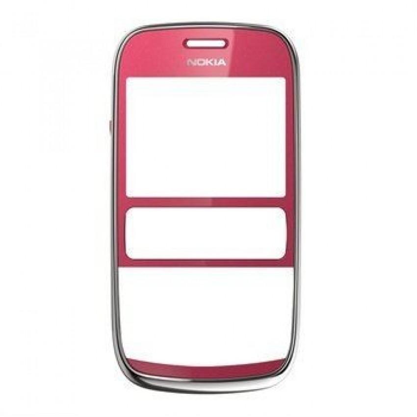 Korpusas Nokia 302 priekinis raudonas ORG