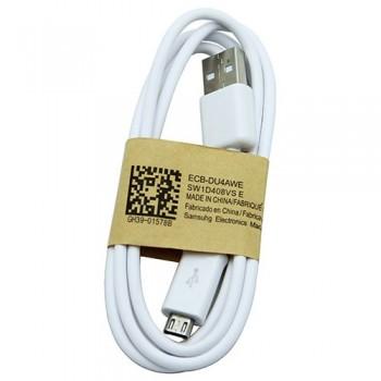 USB cable ORG Samsung i9500 S4/N7100 Note 2 microUSB (ECB-DU4AWE) white (1M)