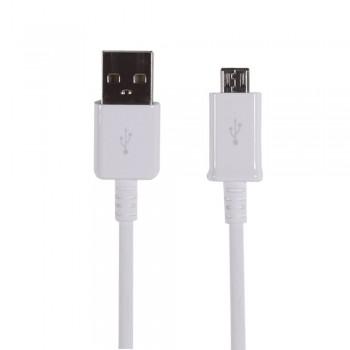 USB cable ORG Samsung i9500 S4/N7100 Note 2 microUSB (ECB-DU4EWE) white (1,5M)