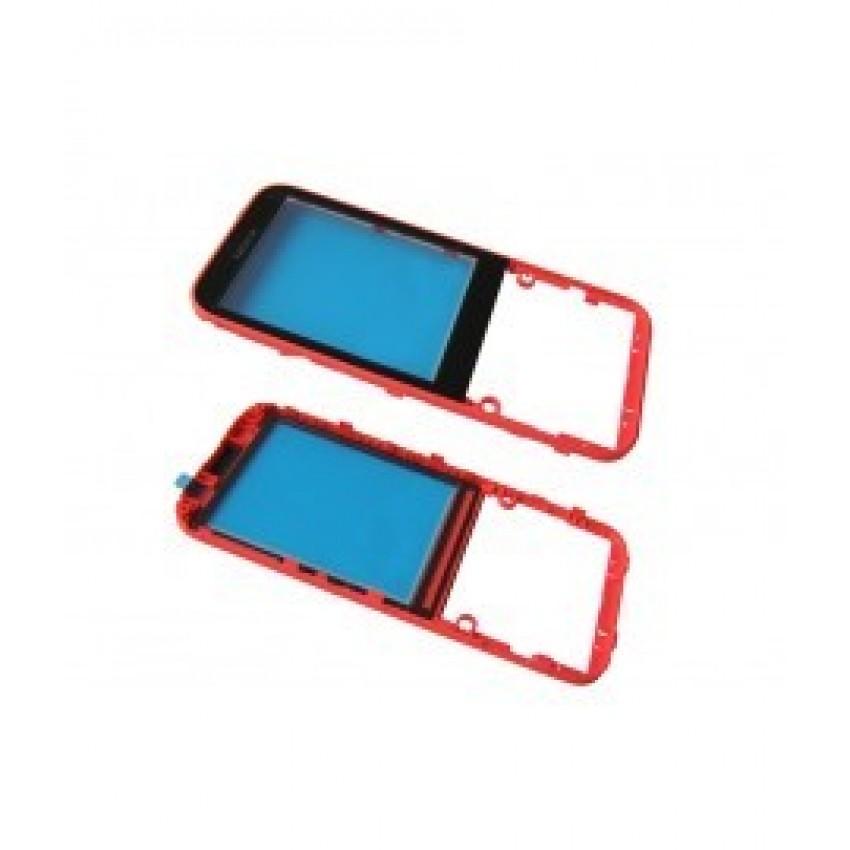 Korpusas Nokia 225 priekinis raudonas HQ