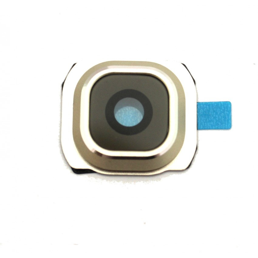 Samsung G920 S6 kameros stikliukas mėlynas HQ