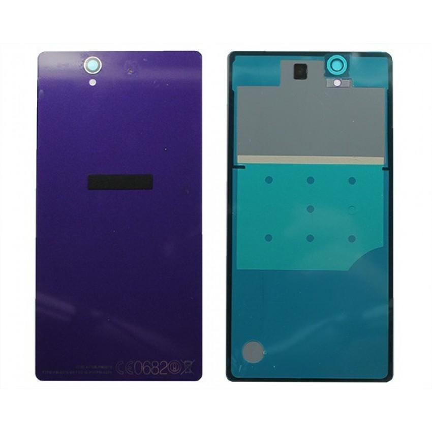 Galinis dangtelis Sony D6603/Xperia Z3 violetinis HQ