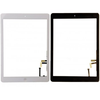 Touch screen iPad Air white with holders HQ