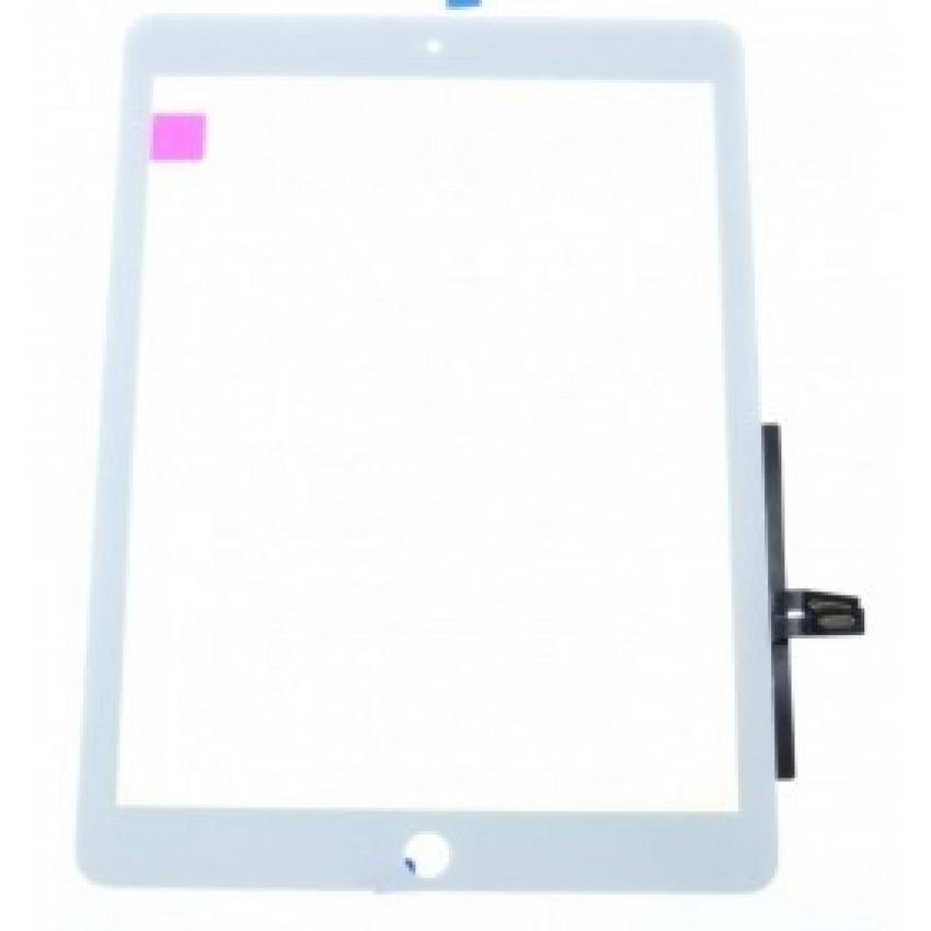 Lietimui jautrus stikliukas iPad Air juodas su laikikliais HQ