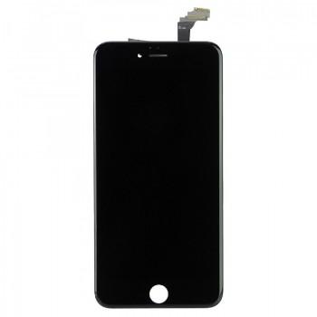 Ekranas iPhone 6 Plus su lietimui jautriu stikliuku juodas HQ