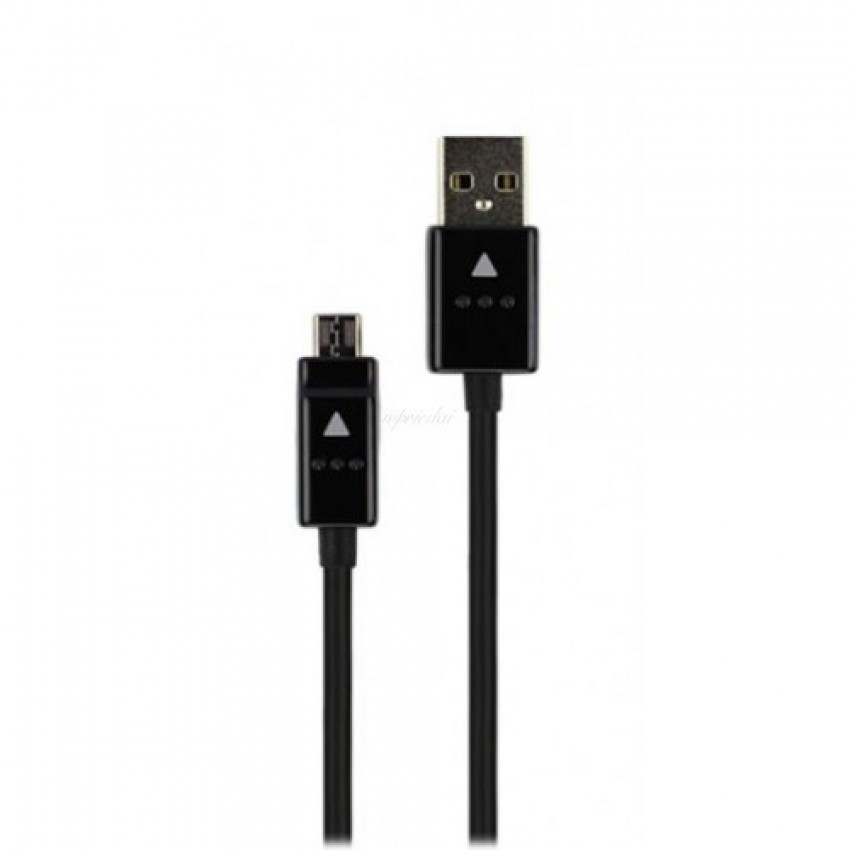 USB kabelis ORG LG G2/G3/G4 microUSB (DC05BK-G) juodas (1.2M)