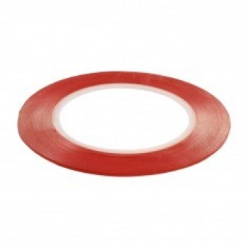 Double side adhesive tape for touchscreens 7mm transparent