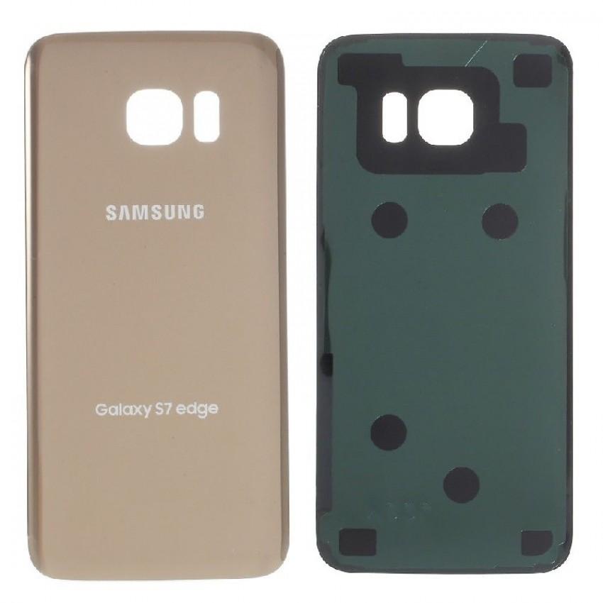 Galinis dangtelis Samsung G935F S7 Edge auksinis HQ