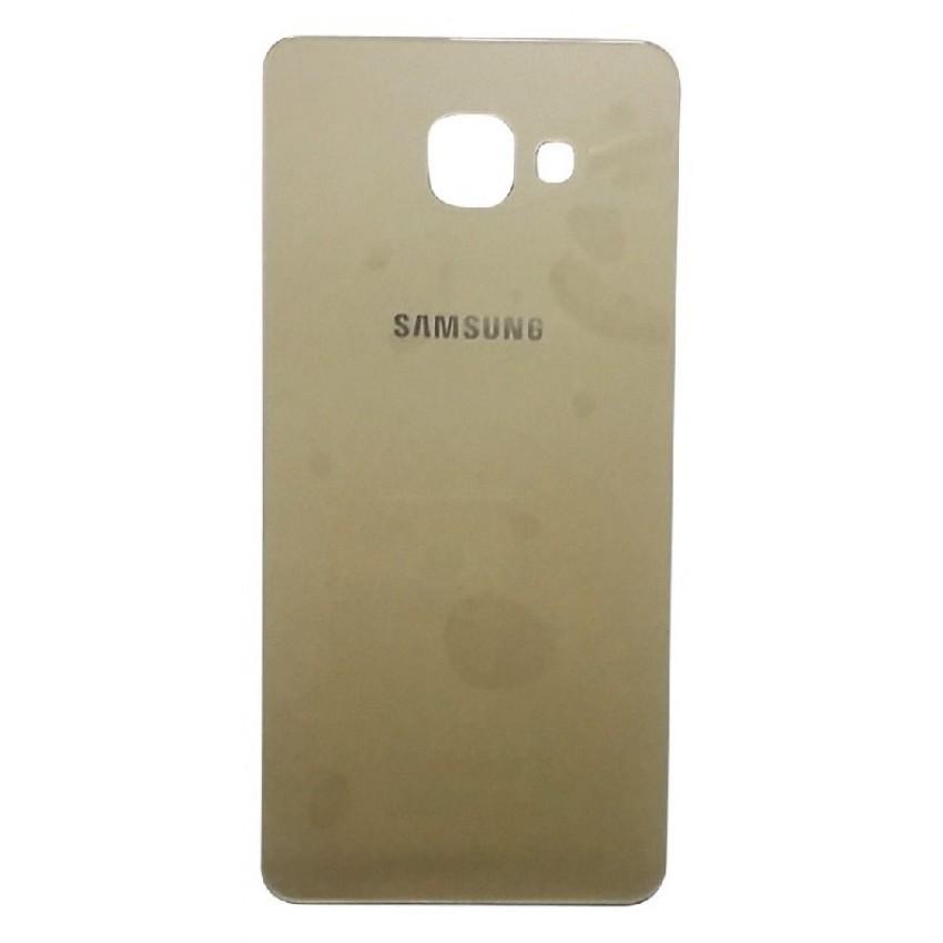 Galinis dangtelis Samsung A710 A7 2016 auksinis