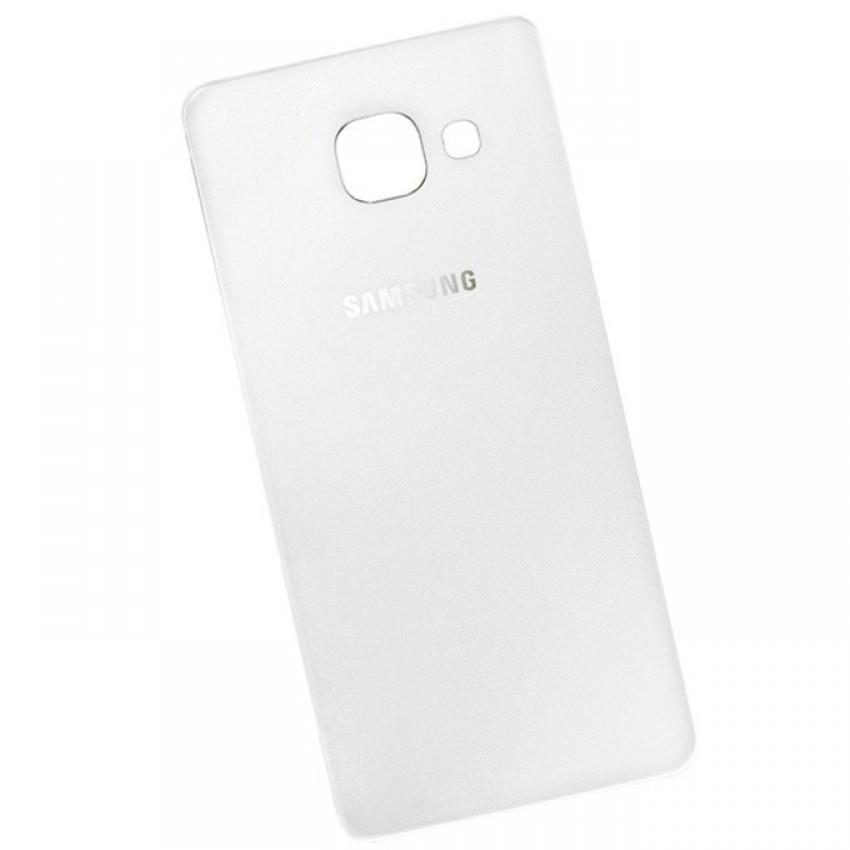 Galinis dangtelis Samsung A710 A7 2016 baltas