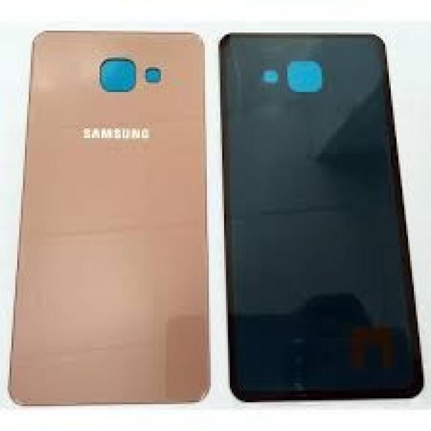 Galinis dangtelis Samsung A710 A7 2016 rožinis