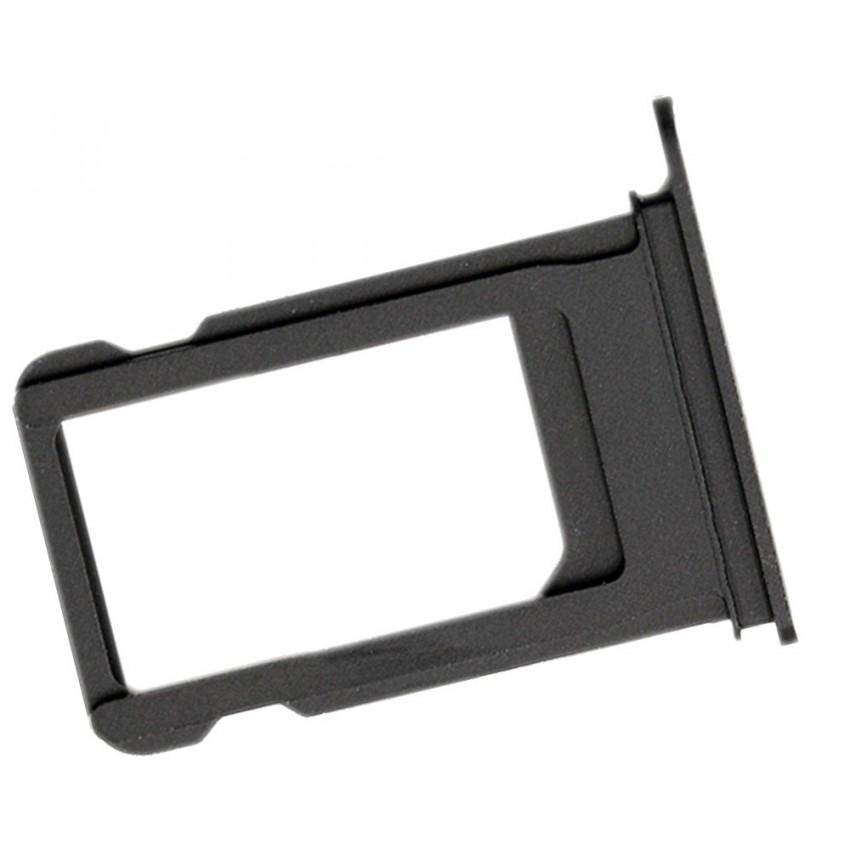 SIM card holder Apple iPhone 7 Plus black (jet black)