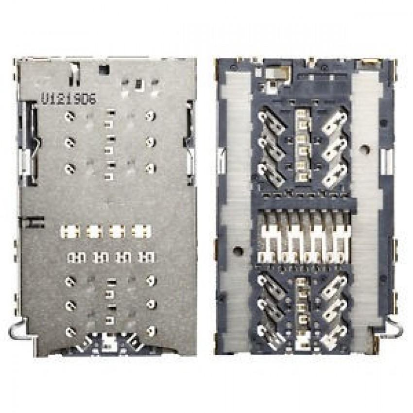 SIM and MicroSD (or DUAL SIM) card contact Samsung A320F/A520F/G930F/G935F/N930F/G950F/G955F/N950FD ORG