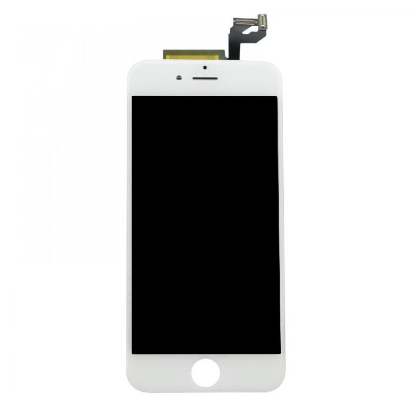 Ekranas iPhone 6S su lietimui jautriu stikliuku baltas (Refurbished) ORG