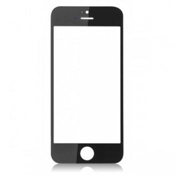 LCD stikliukas Apple iPhone 5 su rėmeliu ir OCA juodas ORG