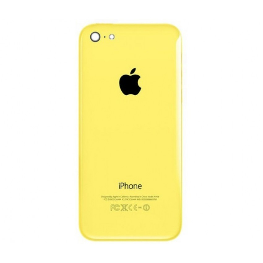Galinis dangtelis iPhone 5C geltonas