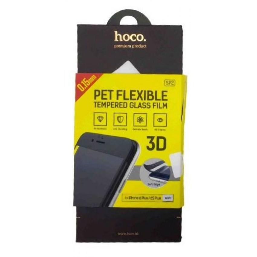 """LCD apsauginis stikliukas """"Hoco SP2 3D"""" Apple iPhone 6/6S baltas"""