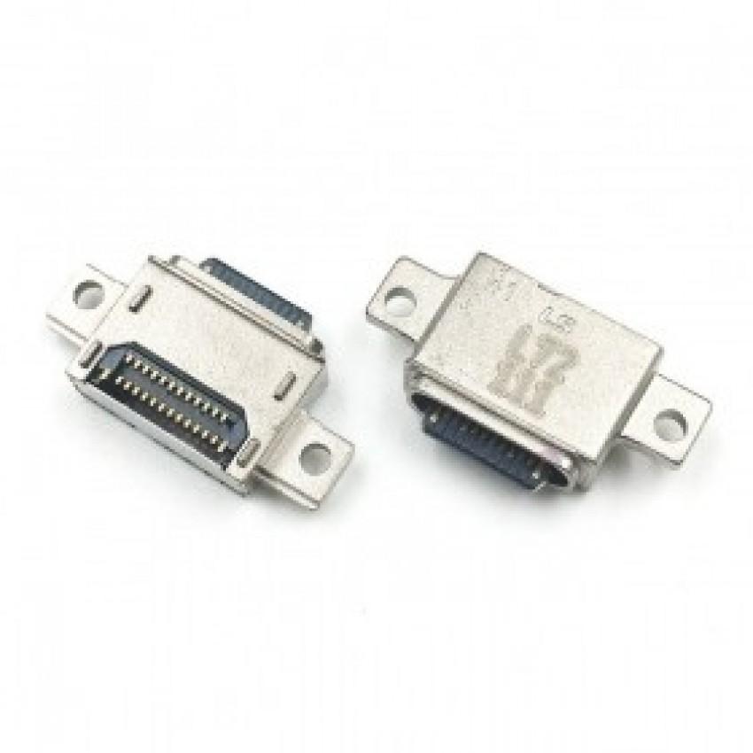 Įkrovimo kontaktas ORG Samsung G950 S8/G955 S8+/G960 S9/G965 S9+ Type-C